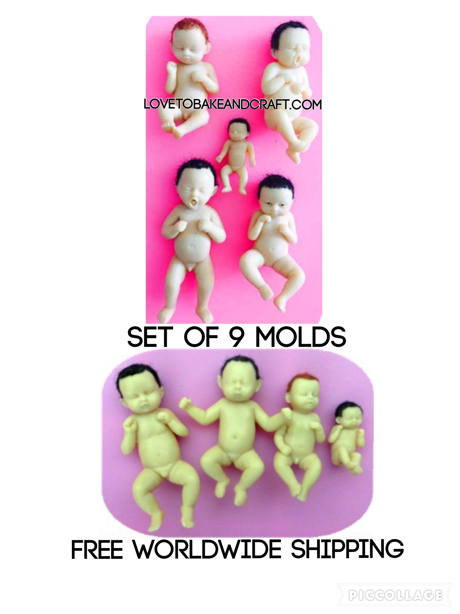 how to make a silicone doll mold